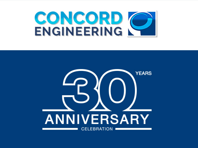 Concord Engineering 30th Anniversary